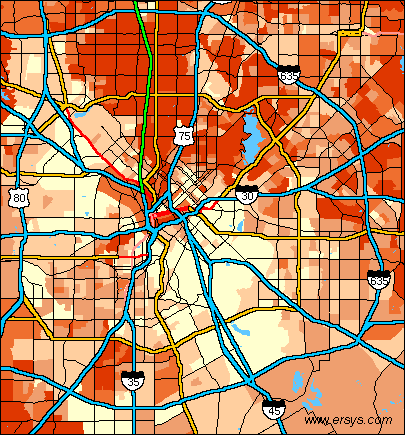 Download wallpaper high full HD » map dallas area | Full Wallpapers HOME