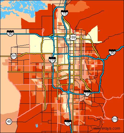 STI ERsys Salt Lake City UT Income - Salt lake city map of us