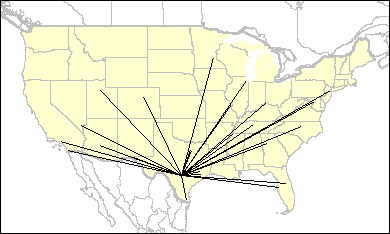 Sti Ersys San Antonio International Arpt Non Stop Flights